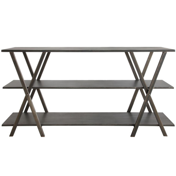 Barrington Three-Tier Metal Console