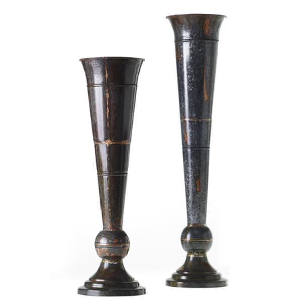 Black Copper Urn Vase
