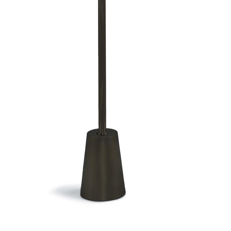 Modern Black Metal Swing Arm Floor Lamp
