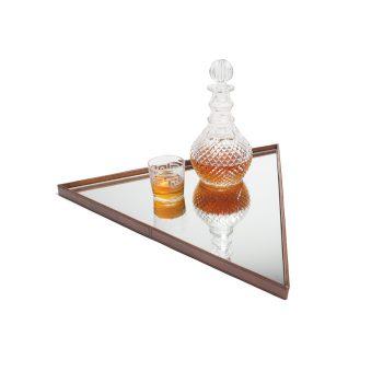 Triangle Mirror Tray