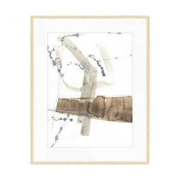 brown and gray abstract watercolor art
