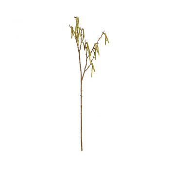 faux birch branch with hanging pods