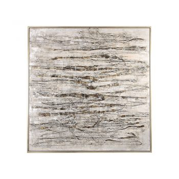 gray and brown textured abstract art
