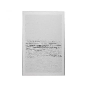 white and gray textured abstract art